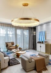 Saturno LED Pendant by Baroncelli