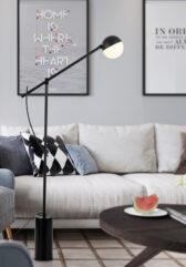 O - floor lamp