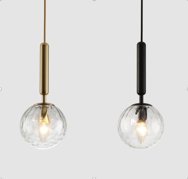 Одноламповые подвесные люстры lamp Bollo