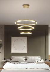 тросовая серия люстр Golden Circles Lamp