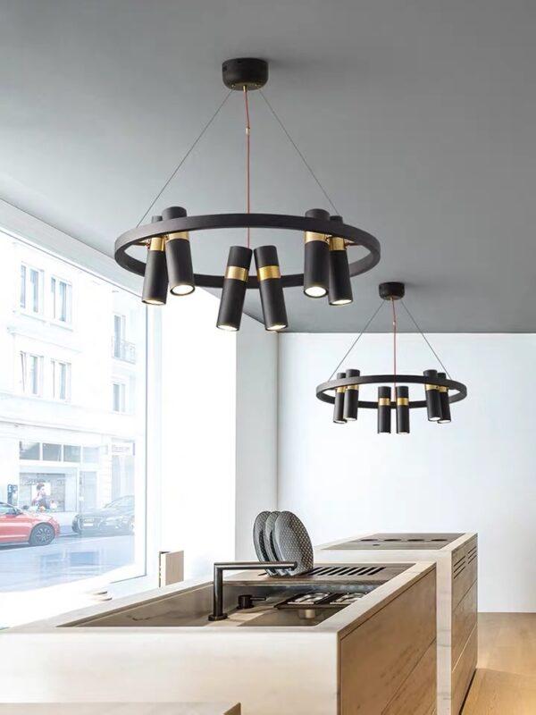 Тросовая серия люстр SPOOR LAMP