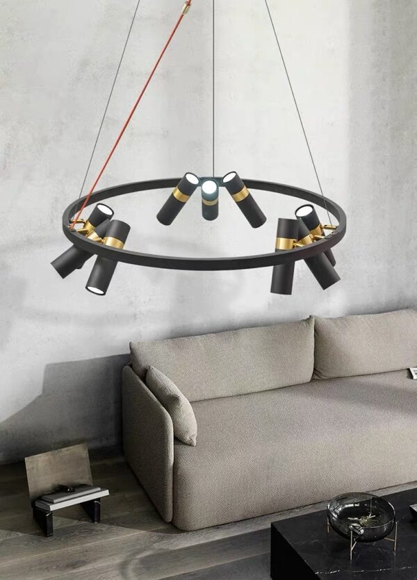 Серия тросовых люстр SPOOR LAMP