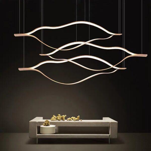 Подвесная серия люстр Flat Lamp