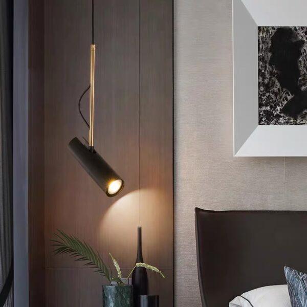 Одноламповая серия подвесных люстр Tube light