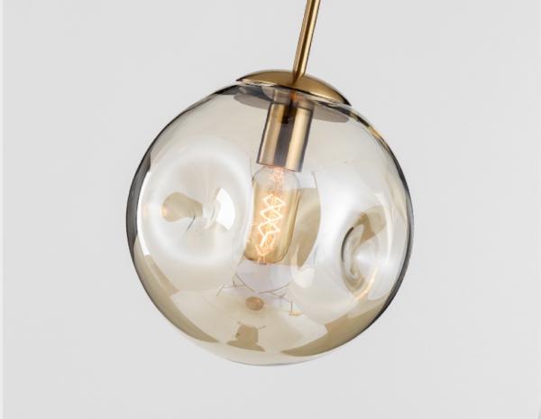 Одноламповая серия люстр Fossa bubbles