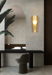 Настенная серия светильников Membrane Gold Lamp