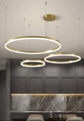 Подвесная серия люстр Kukho Golden Circle Lamp