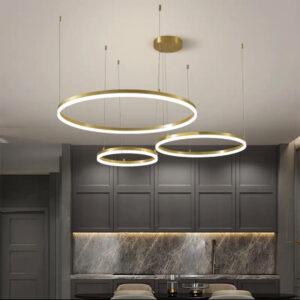 Подвесная серия люстр Kukho Golden Circle Lamp