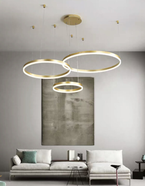 скандинавская серия люстр Kukho Golden Circle Lamp