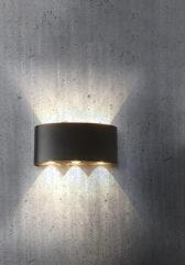 настенная серия светодиодных бра Beams wall lamp
