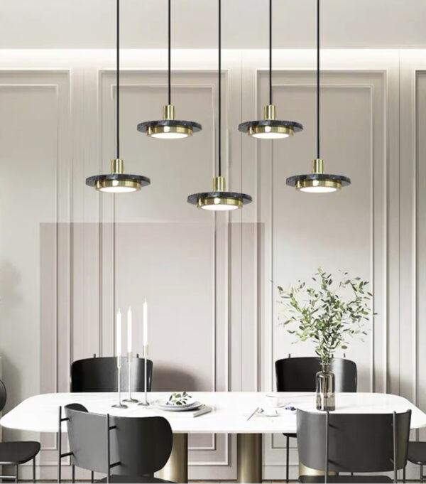 Светодиодная серия люстр Marble Lamp