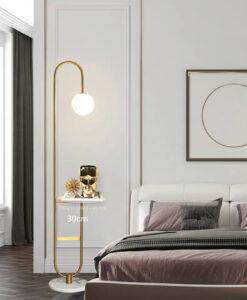 Напольный торшер Tail Bronze floor lamp
