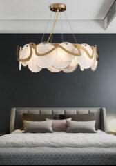 Тросовая серия люстр Cloods Bronze Lamp