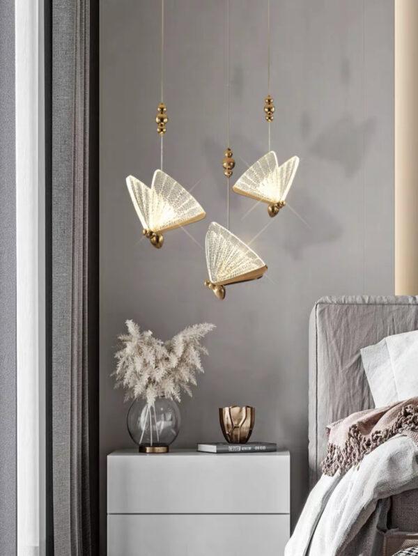 Одноламповая серия подвесных люстр Golden Apis