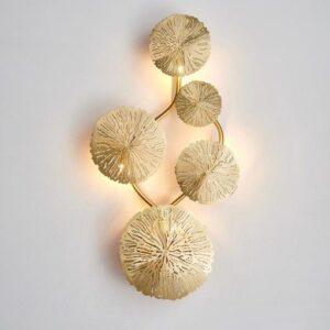Настенная серия светильников Floral wall lamp