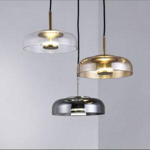 Подвесная серия одноламповых люстр Vaipid Lamp Graphite