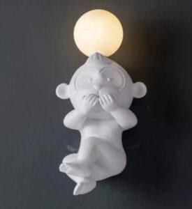Настенная серия бра Baby Monkey