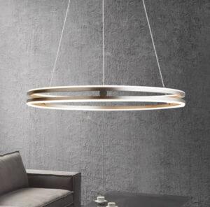 Подвесная люстра на тросах Leweling Circle Lamp