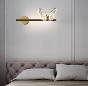 Настенные светильники Anello Farfalla left
