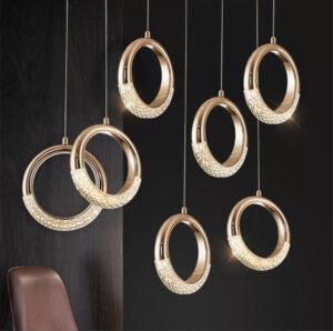 Подвесные люстры Led Ring