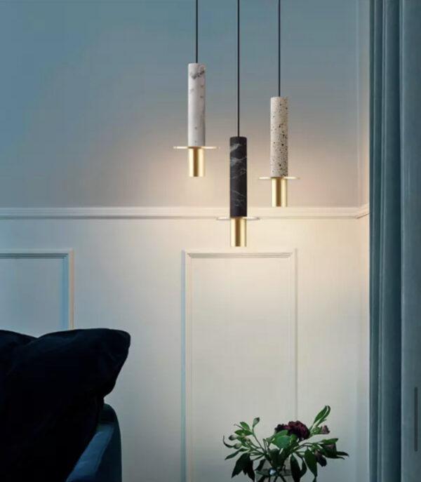 Подвесная серия люстр Marble Tube Lamp