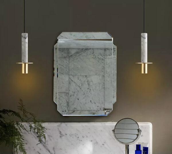 Подвесная люстра Marble Tube Lamp