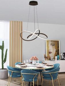 Тросовая серия люстр Clip Led Lamp